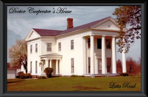 Jigsaw puzzle Dr. Carpenter's house with text